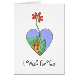 I Wish For You - Customized Greeting Card