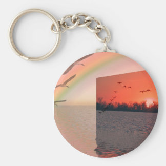 I wish I could fly Key Chains