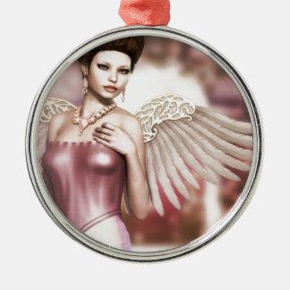 I wish I had an angel... Metal Ornament