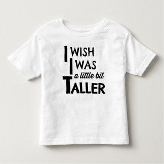 I Wish I Was a Little Bit Taller Modern Tee