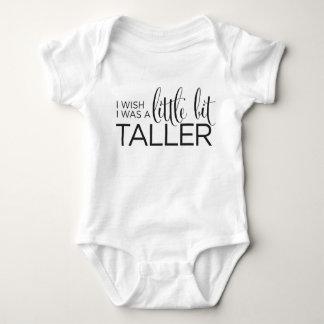 I Wish I Was A Little Bit Taller Tee Shirt