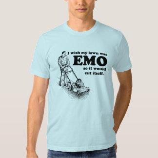 I wish my lawn was EMO so it would cut itself. T Shirt