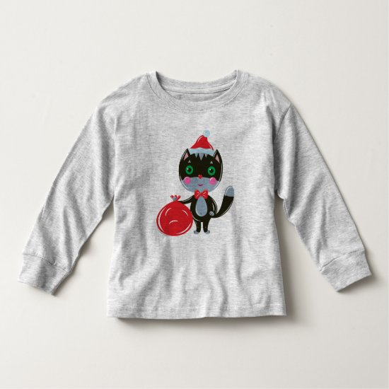 I Wish You a Purry Christmas! Toddler T-shirt