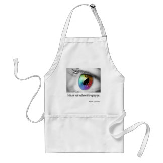 I wish you could see adult apron