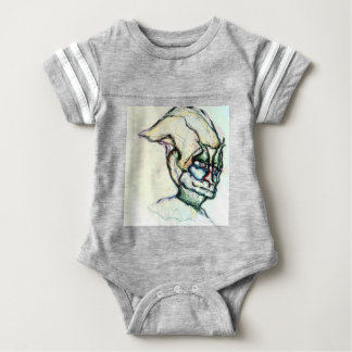 I wish you knew how much I love you the ambient Baby Bodysuit