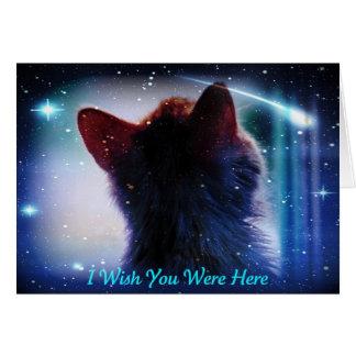 I Wish You Were Here Card