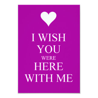 Wish You Were Here Quotes Enchanting Wish You Were Here Invitations & Announcements  Zazzle