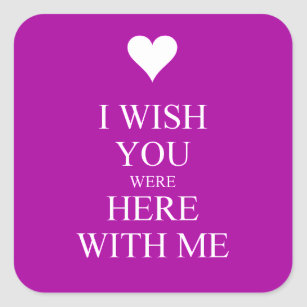I Miss You Wish You Were Here Crafts Party Supplies Zazzle