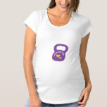 I WOD For Two - Kettlebell Maternity T-Shirt