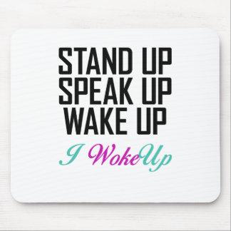 I WokeUp LIke Motivational Products Mouse Pad