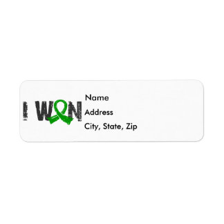 I Won Bile Duct Cancer Label