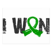 I Won Bile Duct Cancer Postcard