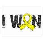 I Won Bladder Cancer Postcard