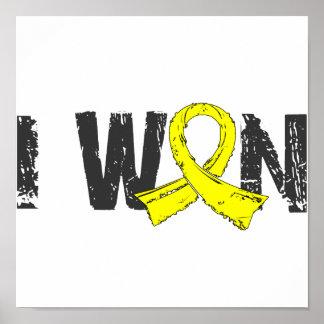 I Won Bladder Cancer Poster