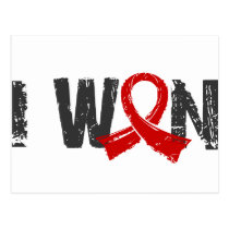 I Won Blood Cancer Postcard