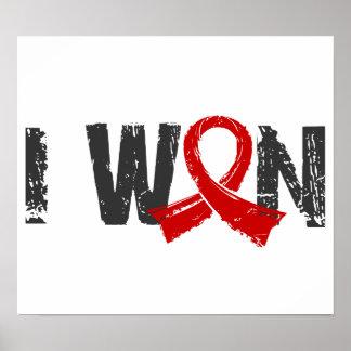 I Won Blood Cancer Print