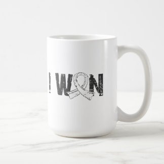 I Won Bone Cancer Classic White Coffee Mug