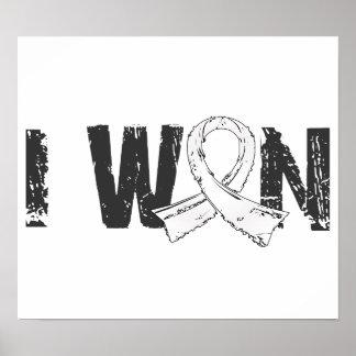 I Won Bone Cancer Posters