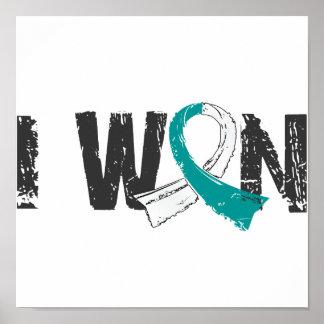 I Won Cervical Cancer Posters