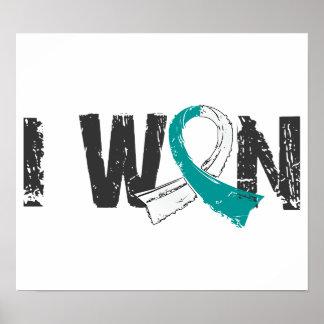 I Won Cervical Cancer Poster