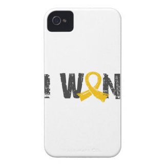 I Won Childhood Cancer Case-Mate iPhone 4 Cases