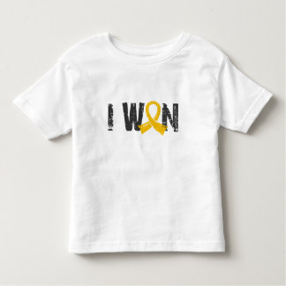 I Won Childhood Cancer Toddler T-shirt