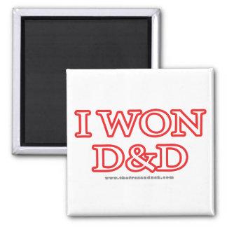 I Won D&D Magnet