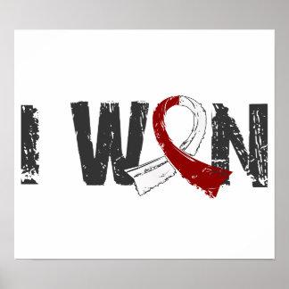 I Won Head Neck Cancer Print