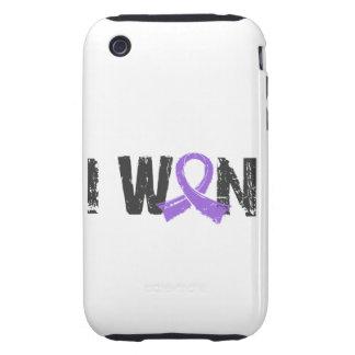 I Won Hodgkin's Lymphoma Tough iPhone 3 Covers