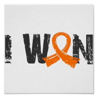 I Won Kidney Cancer Poster