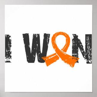 I Won Leukemia Posters