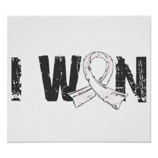 I Won Lung Cancer Poster