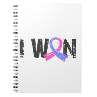 I Won Male Breast Cancer Note Book