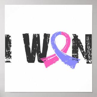 I Won Male Breast Cancer Print