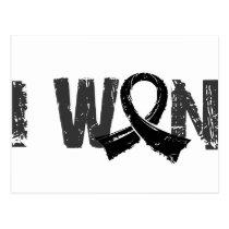 I Won Melanoma Postcard