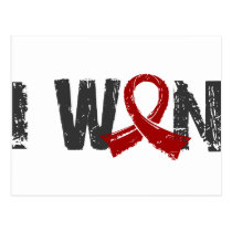 I Won Multiple Myeloma Postcard