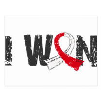 I Won Oral Cancer Postcard