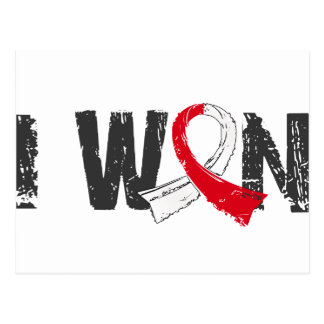 I Won Oral Cancer Postcard