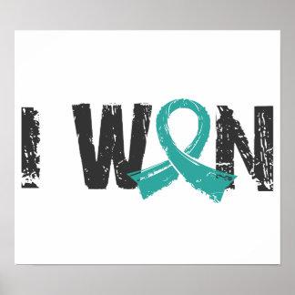 I Won Ovarian Cancer Print