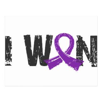 I Won Pancreatic Cancer Postcard