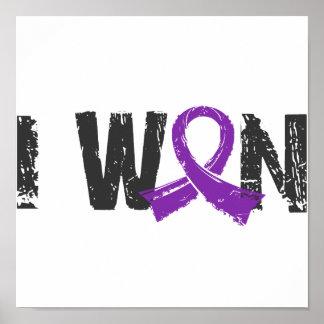 I Won Pancreatic Cancer Poster