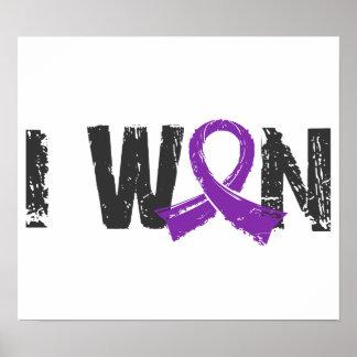 I Won Pancreatic Cancer Print