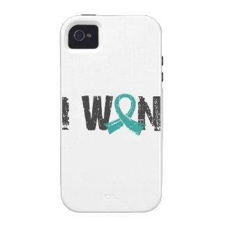 I Won Peritoneal Cancer Case-Mate iPhone 4 Cover