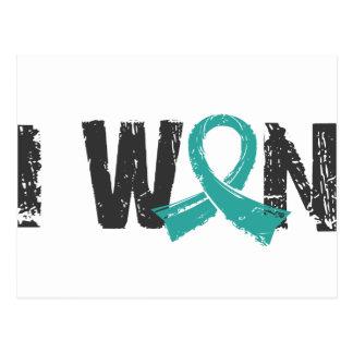 I Won Peritoneal Cancer Postcard