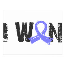 I Won Prostate Cancer Postcard