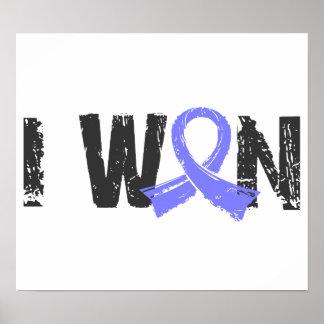 I Won Prostate Cancer Poster