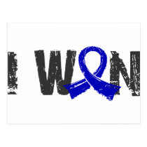 I Won Rectal Cancer Postcard
