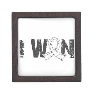 I Won Retinoblastoma Premium Jewelry Box