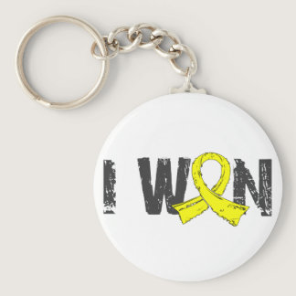 I Won Testicular Cancer Keychain