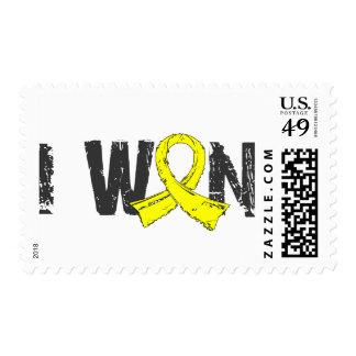 I Won Testicular Cancer Stamp